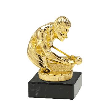 Trofee Juno biljart goud