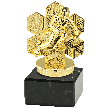 Trofee Juno skiën goud