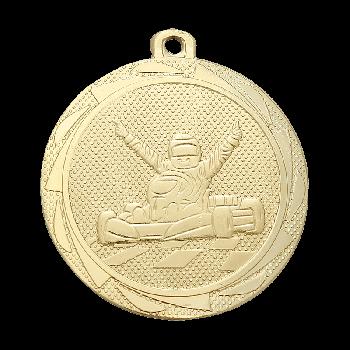 Medaille Londen karten goud