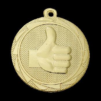 Medaille Londen goed gedaan goud